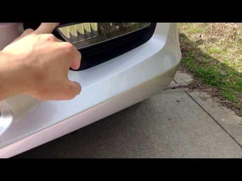 2013-2014 Honda Accord Fog Light Tutorial
