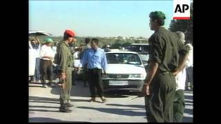 ISRAEL/GAZA :REACTION TO JERUSALEM HAMAS SUICIDE BOMB ATTACK