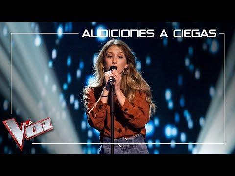 La Voz 2019 - Palomy canta 'Ángel caído' - Audiciones a ciegas