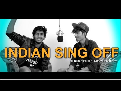 Ed Sheeran - Shape Of You | Indian Sing Off | Rajneesh Patel vs Dhruvan Moorthy