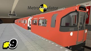 Playing Metro Simulator #9 (Glasgow Subway Map - Inner Circle)