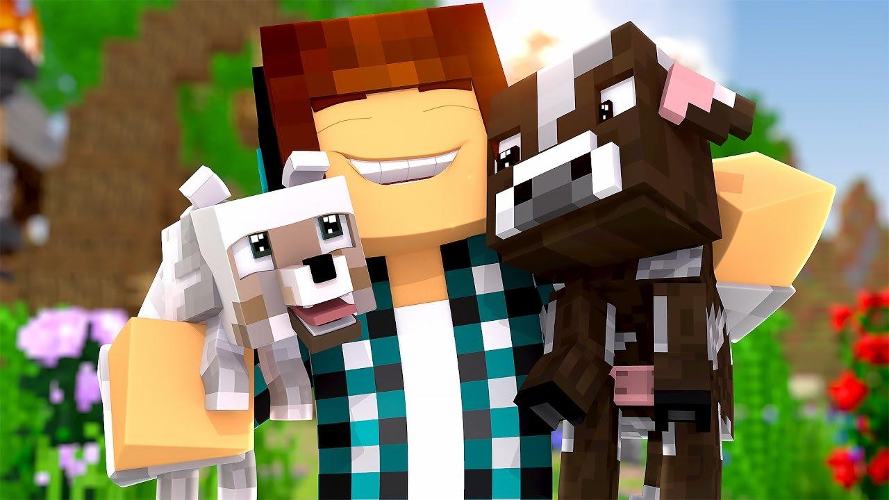 minecraft animais fofos no minecraft youtube