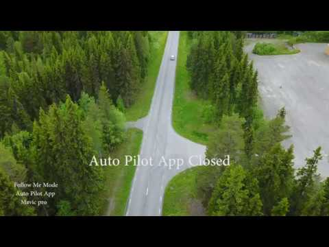 Follow Me Mavic Pro   Auto Pilot App Test 2