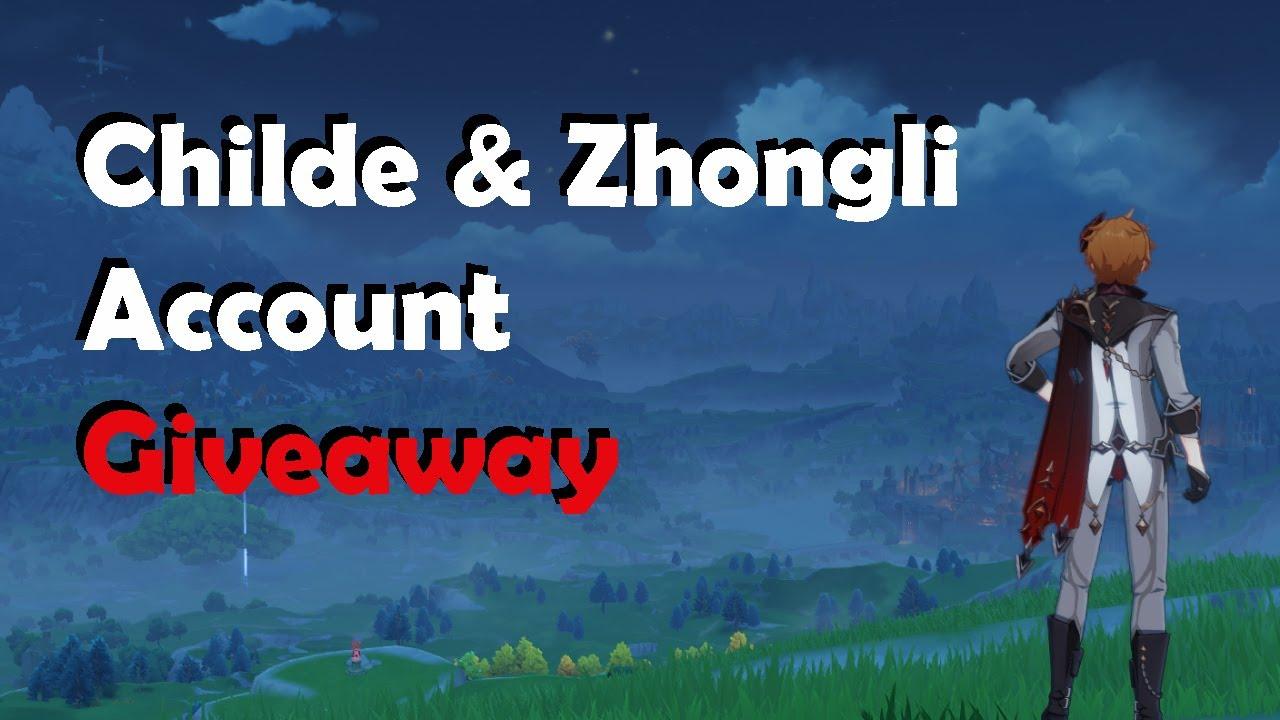 Download 【Genshin Impact】 STACKED CHILDE & ZHONGLI Account Giveaway (Asia Server)