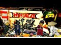 LEGO NINJAGO Movie 2017 - Garma Mecha Man - 70613, Green Ninja Mech Dragon- 70612
