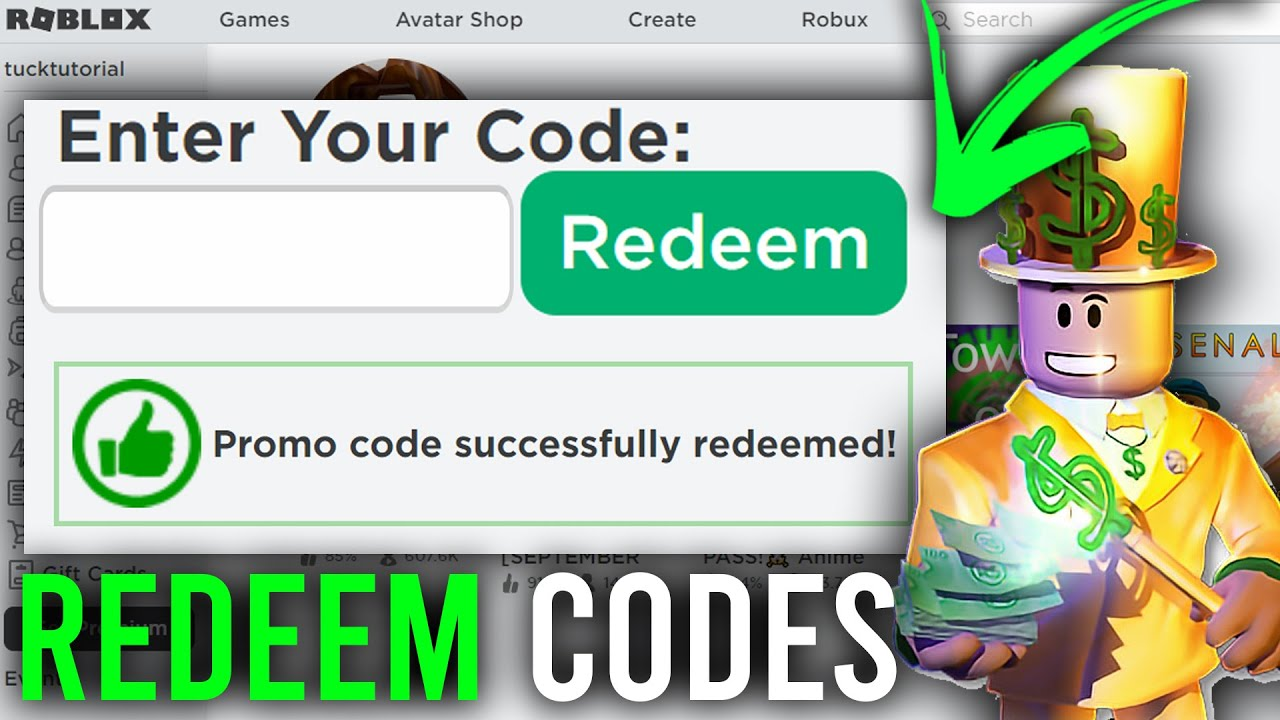 How To Redeem Roblox Codes (Mobile   PC) Redeem Codes On Roblox