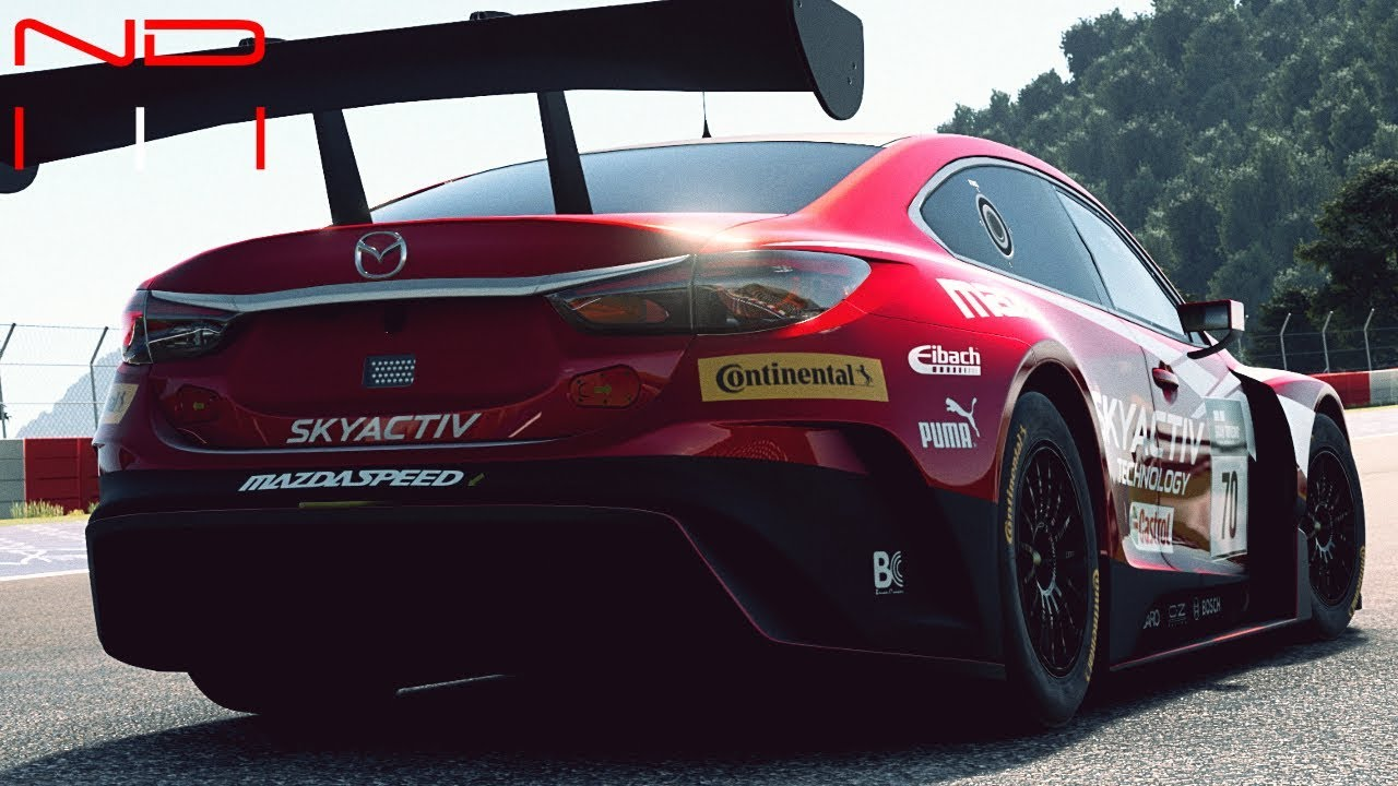 gt sport) mazda atenza gr.3 - sound - youtube