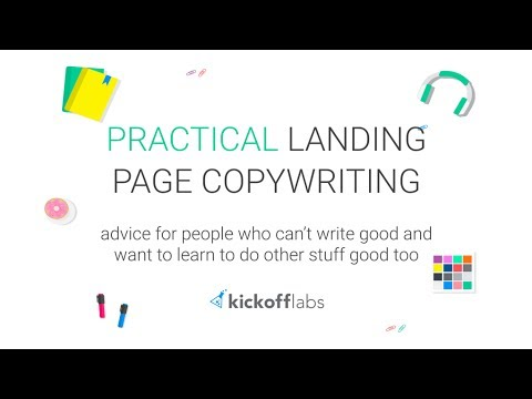Practical Copywriting for Landing Pages