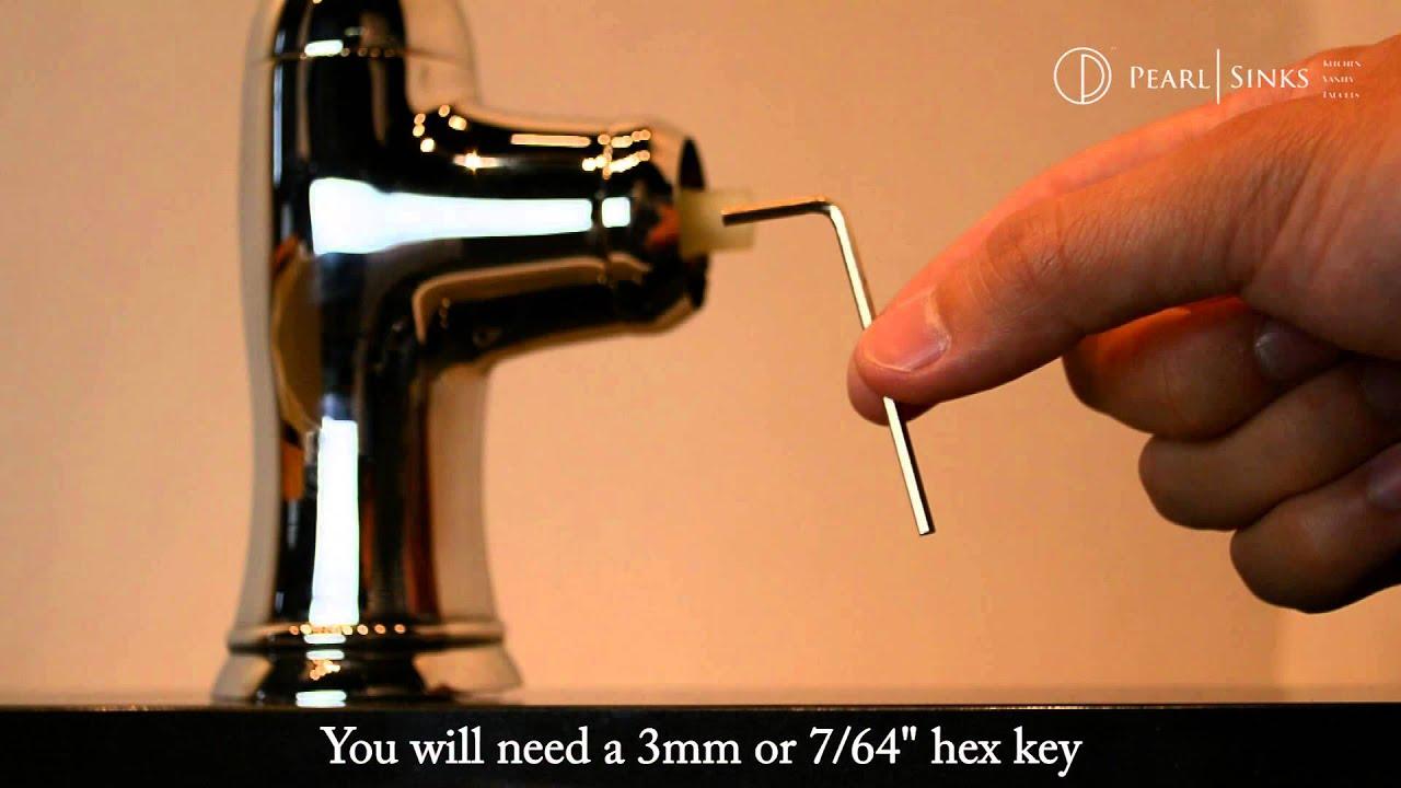 pearl altera kitchen faucet handle repair youtube pearl altera kitchen faucet handle repair