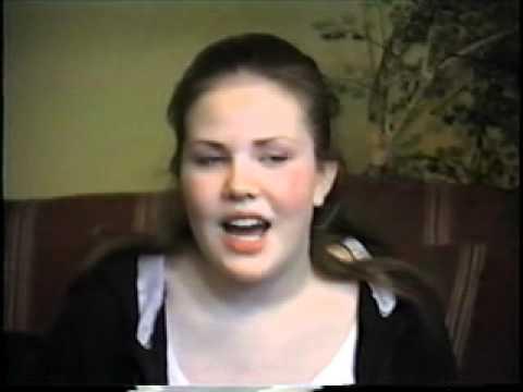 Christina Schmidt's Degrassi Audition S1 DVD Extras