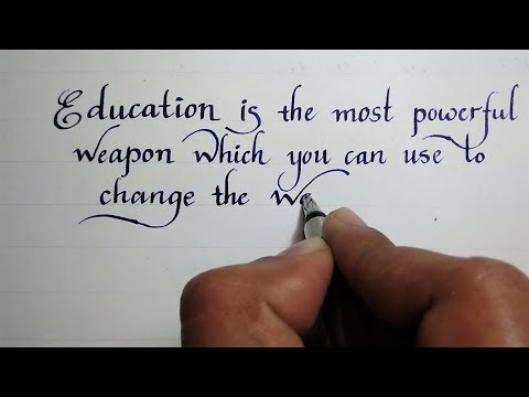simple english handwriting styles  print english