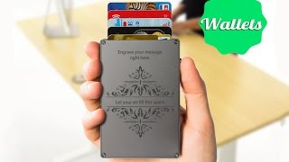 5 Futuristic Wallets You MUST Have! ▶2