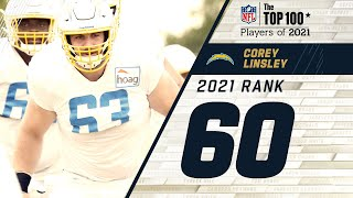 #60 Corey Linsley (C, Los Angeles Chargers) | Top 100 Players of 2021