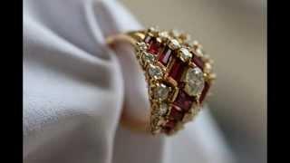 Кольцо OSCAR HEYMAN (США) 5.65кт бриллиантов и рубинов 8.700 $(, 2014-07-01T21:50:01.000Z)