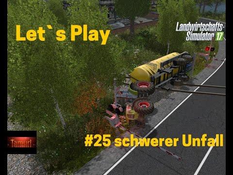 LS17 Winterberg Tiere und mehr Let`s Play #25 schwerer Unfall - YouTube