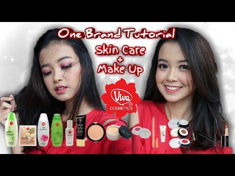 TERLENGKAP !!!  Viva One Brand Skincare & Makeup Tutorial + Quick Review | Primadita R