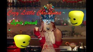 Katy Perry - Cozy Little Christmas ROBLOX LYRIC PRANK (Christmas Special)