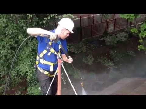 How to remove moss from roof tiles.