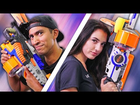NERF Build Your Weapon [Ep 4]!