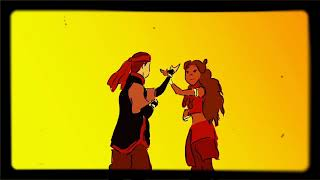 Aang and Katara | Unforgettable
