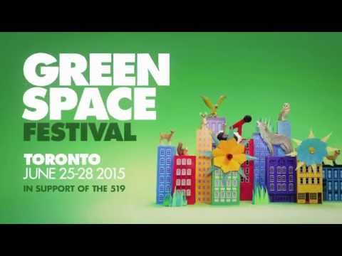 Green Space Festival: June 25-28, 2015