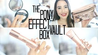 THE PONY EFFECT VAULT BOX UNBOXING | 2016
