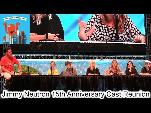 Jimmy Neutron 15th Anniversary Cast Reunion - LA Comic Con 2018