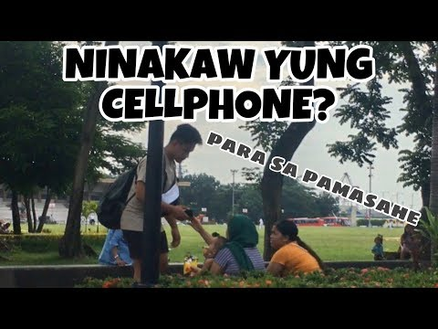 NAKAW NA CELLPHONE   SOCIAL EXPERIMENT