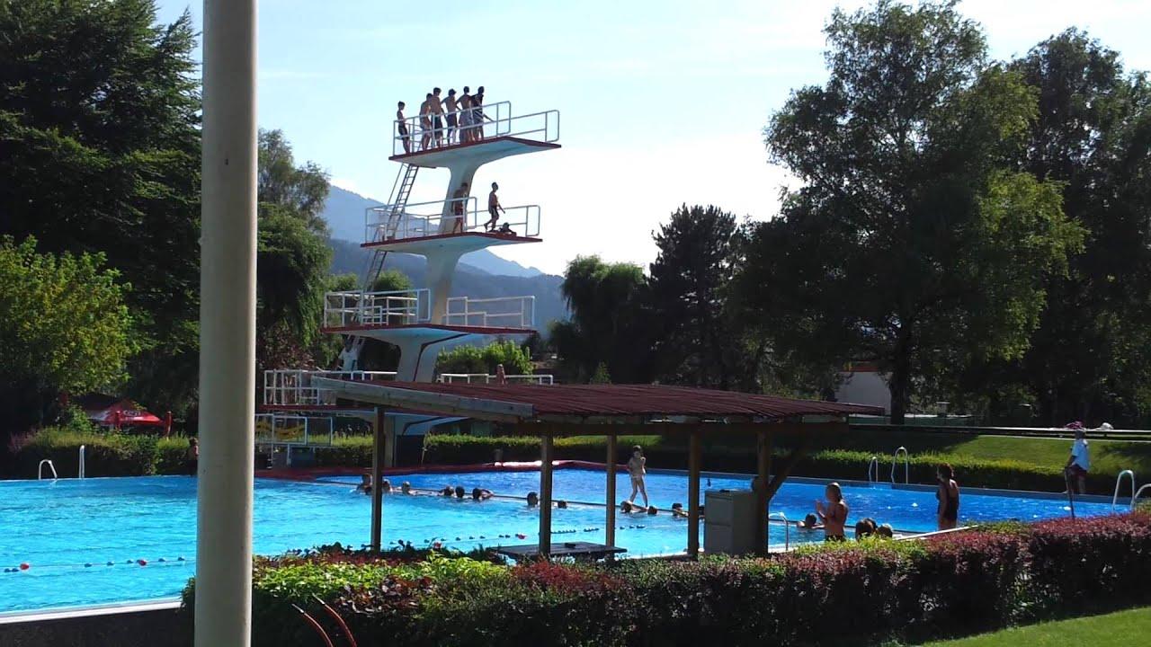 Zwembad hall in tirol 10 meter toren 2011 2 youtube - Zwembad toren in kiezelsteen ...