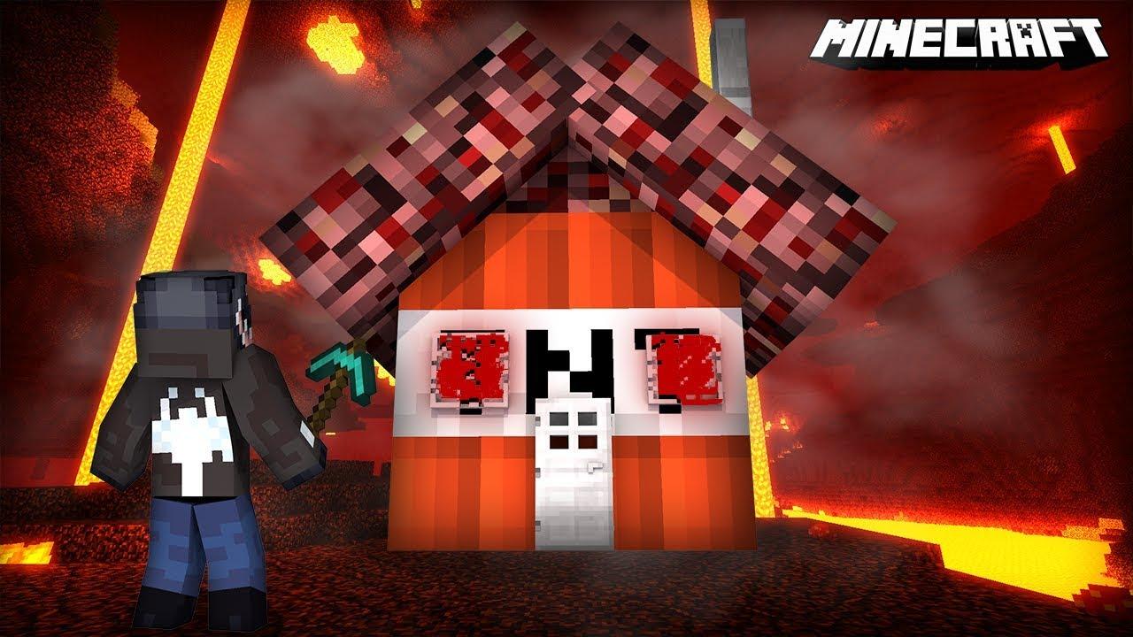 DOMEK TNT VS DIAMENTOWY METEOR || MINECRAFT
