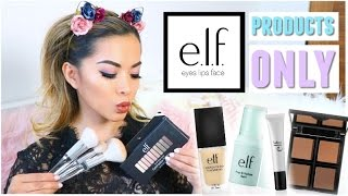 Full Face Using ONLY Elf Cosmetics Products!