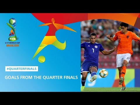 Goal Highlights From The Quarter Finals - FIFA U17 World Cup 2019 ™