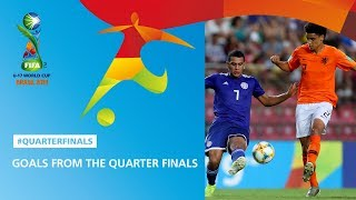 Goal Highlights From The Quarter Finals FIFA U17 World Cup 2019