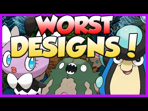 Pokemon Top 10 Worst 5th Gen Designs - Worst Unova Pokemon