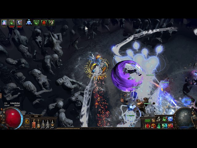 Cheap Poe 3 7 league starter Build for Necromancer With