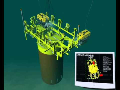 Oil and gas - Installation - Running of suction anchor offshore