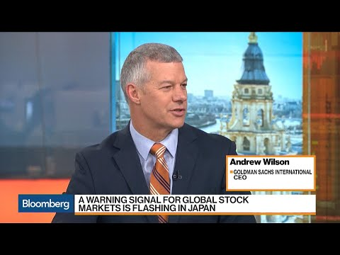 Goldman's Andrew Wilson on Equities, Volatility and Investing