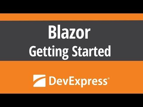 Microsoft Blazor - Getting Started - YouTube