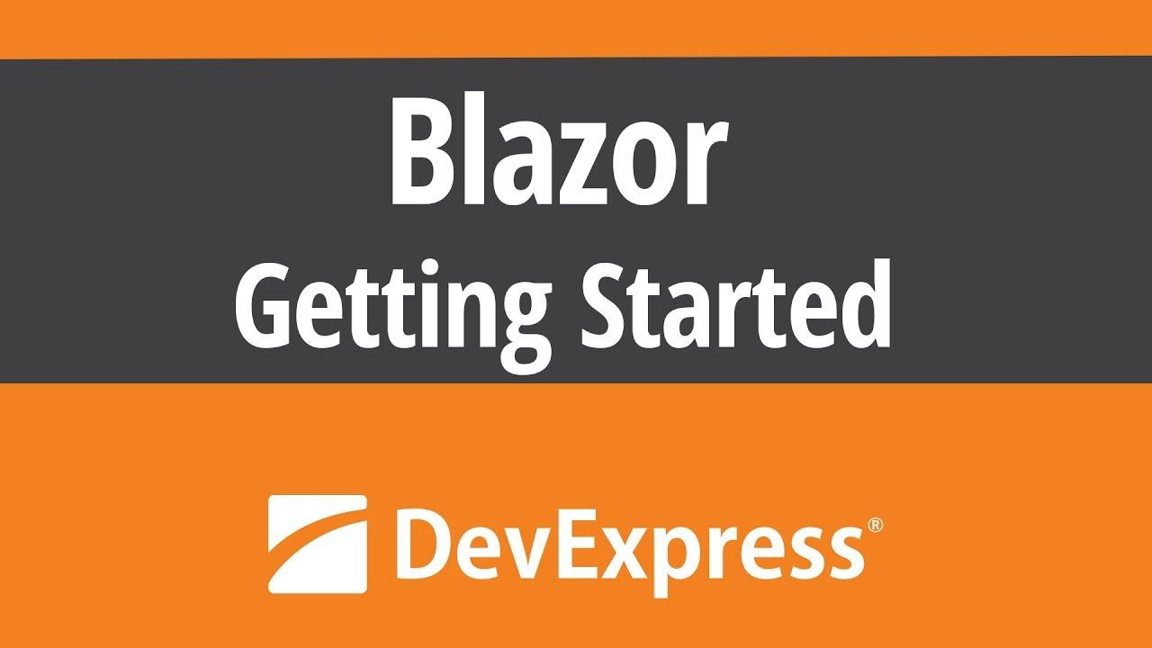 Microsoft Blazor - Getting Started