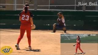 Jennah Mae Dekany's Softball Skills Video - 2017 P/1b - Firecrackers 18gold-young