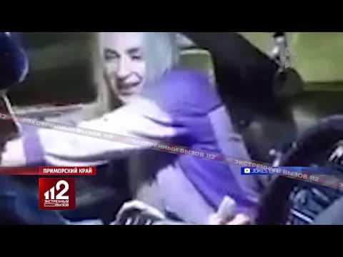 Пьяная автоледи прикинулась порно-актрисой и потребовала другую трубочку...