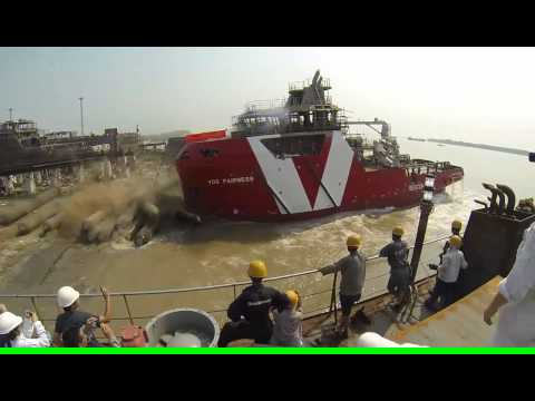 Vroon Group - Launching VOS Fairness - Nanjing East Star Shipyard
