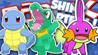 GETTING SHINY WATER STARTERS!!! / Roblox Pokemon Brick Bronze