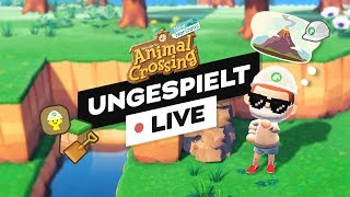 ANIMAL CROSSING TERRAFORMING! + SMASH mit @Taddl 🔴 LIVE