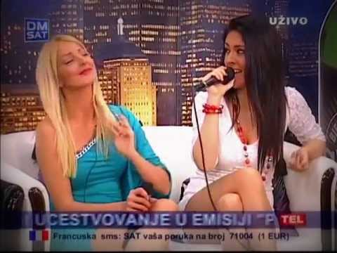 LUNA - Seceru - (LIVE) - Peja Show - (Tv DM SAT 2012)