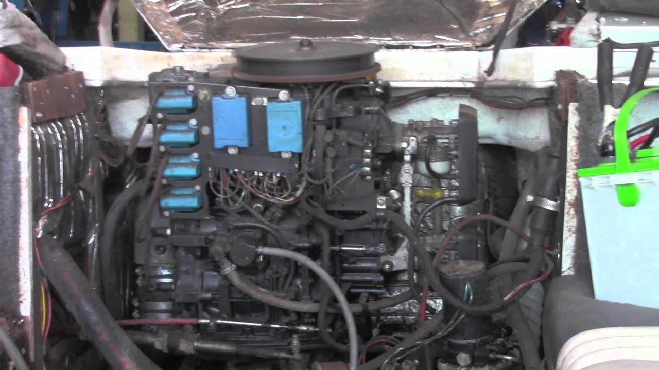 Force 120hp L Drive Power Head Motor  YouTube