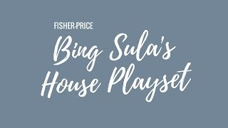 Fisher-Price Bing Sula's House Playset