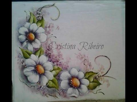 Dicas De Pintura Gratis Arranjo De Flores Bem Facil Pintura Em