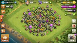 Clash of Clans-Th8 Push to Champion Startegy 1 (SAVE DARK ELIXER AND GAIN TROPHIES)