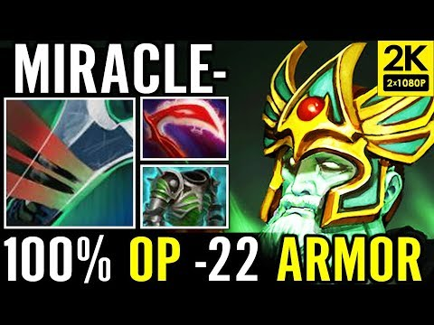 100% OP -22 Armor Miracle Dota 2 WK Carry Pro Build 100% work